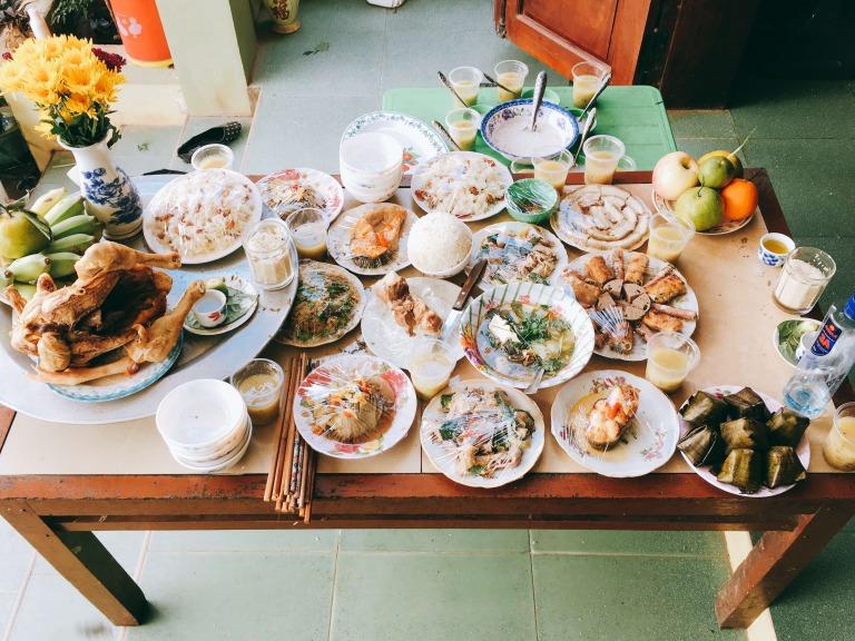 ベトナム年末料理